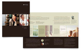 Financial Planner - Adobe InDesign Brochure