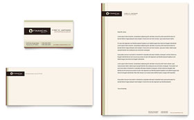 Financial Planner - Business Card Template