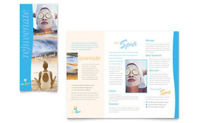 Beauty Spa - Microsoft Word Brochure