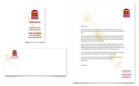 Home Builder & Contractor - Business Card & Letterhead Template