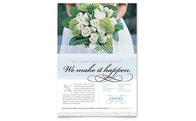 Wedding & Event Planning - Flyer