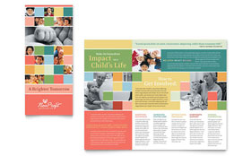 Non Profit Association for Children - Brochure
