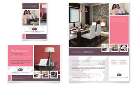 Interior Designer - Flyer & Ad