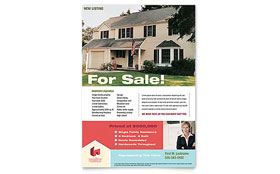 Home Real Estate - Flyer