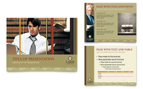 Lawyer & Law Firm - PowerPoint Presentation