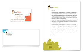 Painter & Painting Contractor - Business Card Template