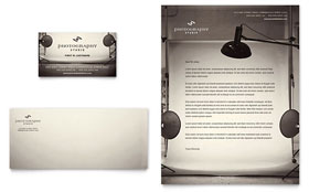 Photography Studio - Business Card & Letterhead