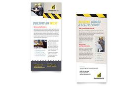 Industrial & Commercial Construction - Rack Card
