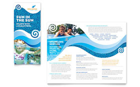 Swimming Pool Cleaning Service - Brochure