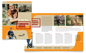 Movers & Moving Company - Brochure Template
