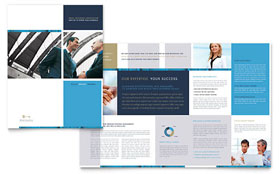 Small Business Consulting - Desktop Publishing Brochure Template