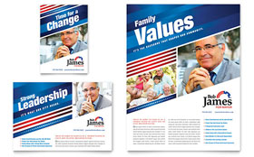 Political Campaign - Flyer & Ad