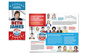 Political Candidate - Brochure Template