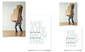 We're Moving - Note Card