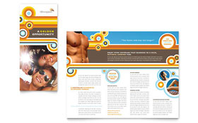 Tanning Salon - Microsoft Word Brochure