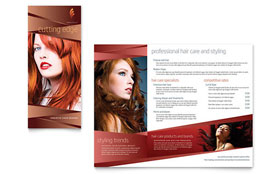 Hair Stylist & Salon - Brochure
