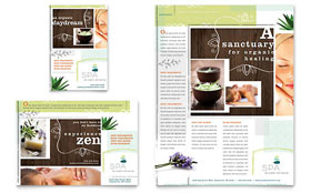 Day Spa - Flyer & Ad Template