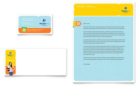 Weight Loss Clinic - Business Card Template