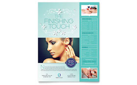 Nail Technician - Flyer