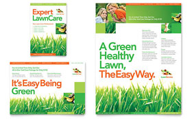 Lawn Maintenance - Flyer & Ad