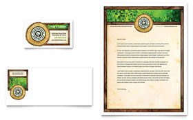 Tree Service - Business Card & Letterhead Template