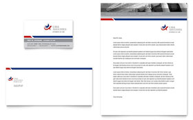 Legal & Government Services - Business Card & Letterhead Template