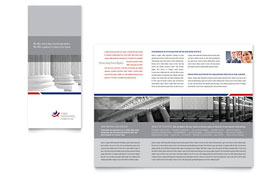 Legal & Government Services - Tri Fold Brochure