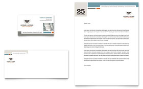 Family Law Attorneys - Business Card & Letterhead Template