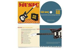 Live Music Festival Event - CD Booklet Imprint