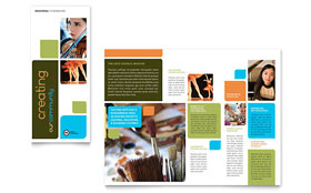 Arts Council & Education - Microsoft Word Brochure