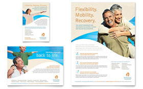 Physical Therapist - Flyer Template