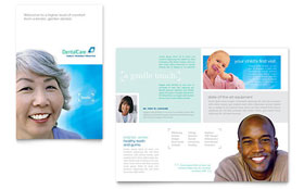 Dental Care - Microsoft Word Brochure