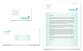 Dental Care - Business Card & Letterhead