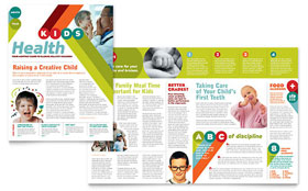 Pediatrician & Child Care - Newsletter Template
