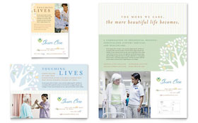 Elder Care & Nursing Home - Flyer & Ad Template