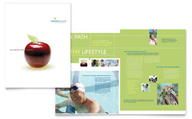 Healthcare Management - Adobe InDesign Brochure