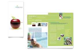 Healthcare Management - Tri Fold Brochure