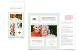 Senior Care Services - Tri Fold Brochure