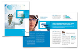 Science & Chemistry - Brochure Template