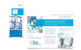 Science & Chemistry - Tri Fold Brochure