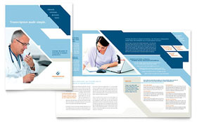 Medical Transcription - Microsoft Word Brochure