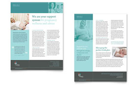 Pregnancy Clinic - Sales Sheet Template