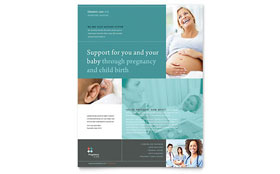 Pregnancy Clinic - Flyer
