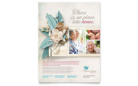 Hospice & Home Care - Flyer Template