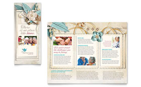 Hospice & Home Care - Tri Fold Brochure