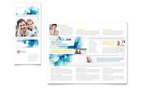 Behavioral Counseling - Microsoft Publisher Tri Fold Brochure Template