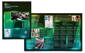 Medical Conference - Brochure Template