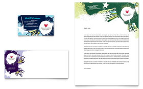 Child Advocates - Business Card & Letterhead