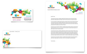 Youth Program - Business Card & Letterhead