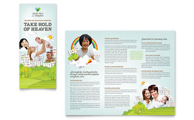 Foster Care & Adoption - Brochure Template